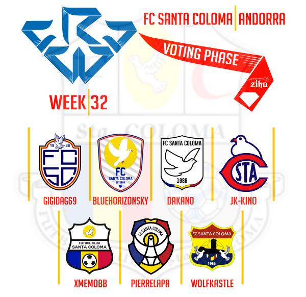 CRCW - WEEK 32 - VOTING