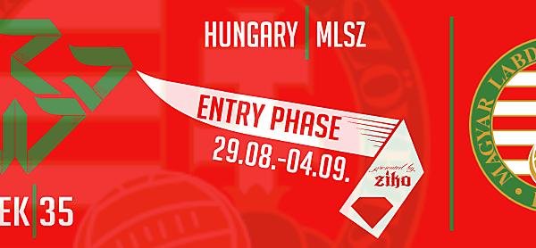 CRCW - WEEK 35: Hungary (MLSZ)