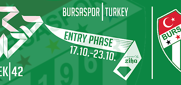 CRCW - WEEK 42: Bursaspor (Turkey)