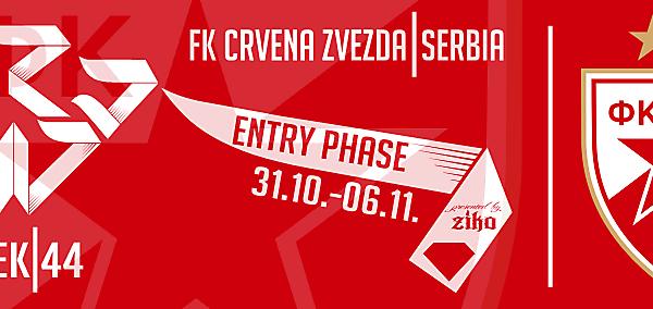CRCW - WEEK 44: FK Crvena Zvezda (Serbia)
