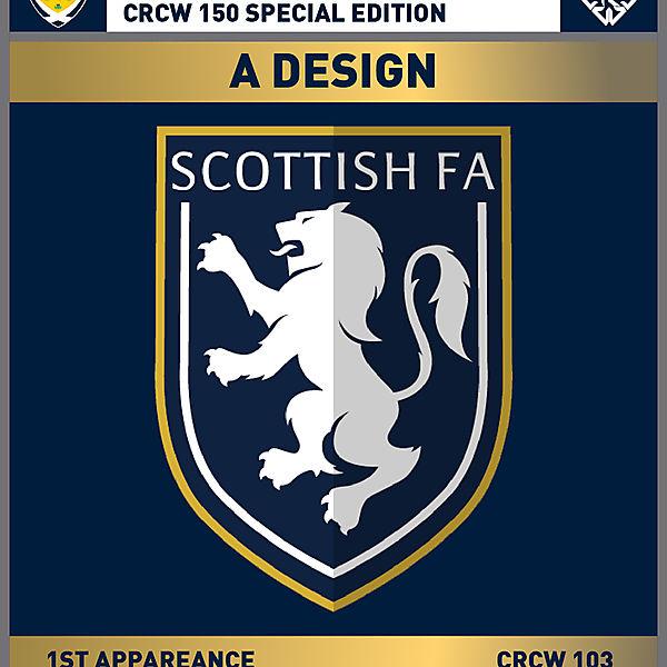 CRCW 150 SE   SCOTTISH F.A.   A DESIGN