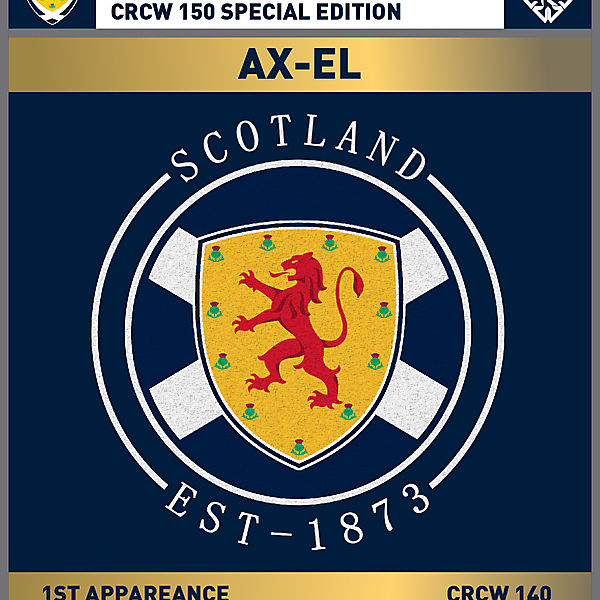 CRCW 150 SE | SCOTTISH F.A. | AX-EL