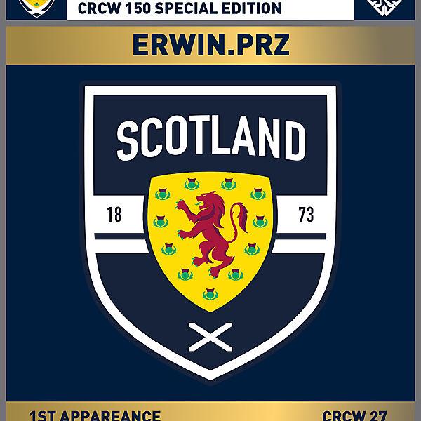 CRCW 150 SE | SCOTTISH F.A. | ERWIN.PRZ
