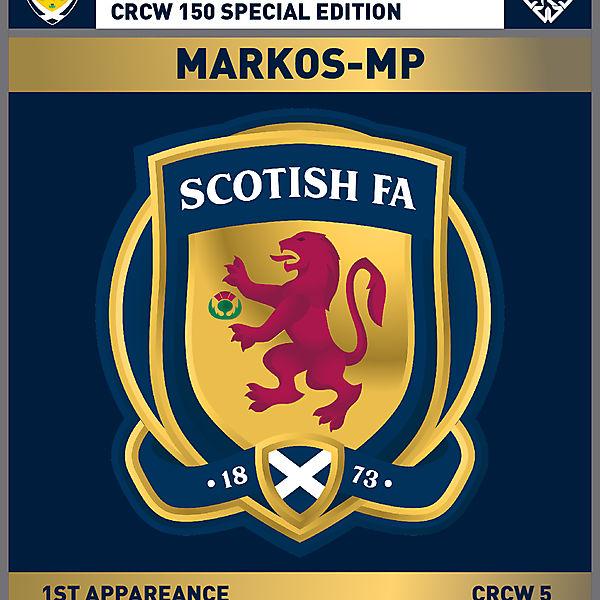 CRCW 150 SE | SCOTTISH F.A. | MARKOS-MP
