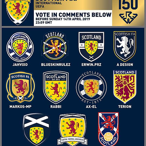 CRCW 150 SE | SCOTTISH F.A. | VOTING