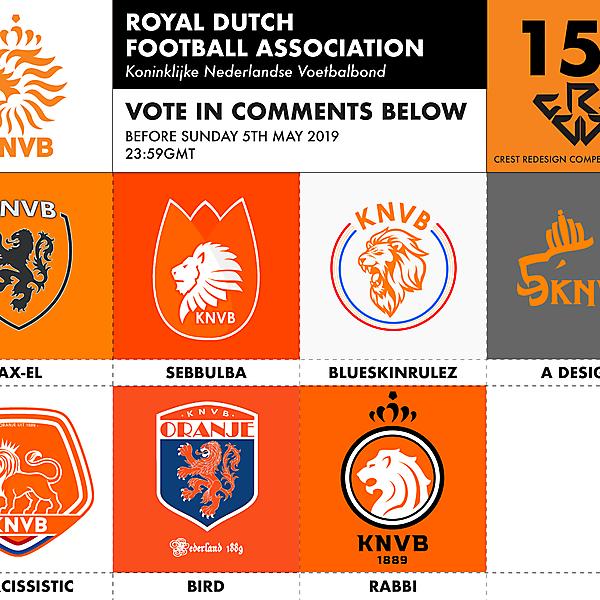 CRCW 151 KNVB VOTING