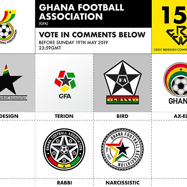 CRCW 153 GHANA FA VOTING