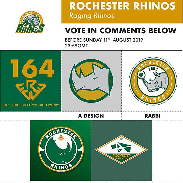 CRCW 164 ROCHESTER RHINOS VOTING