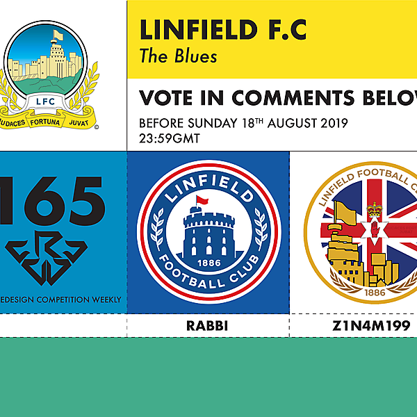 CRCW 165 LINFIELD FC VOTING