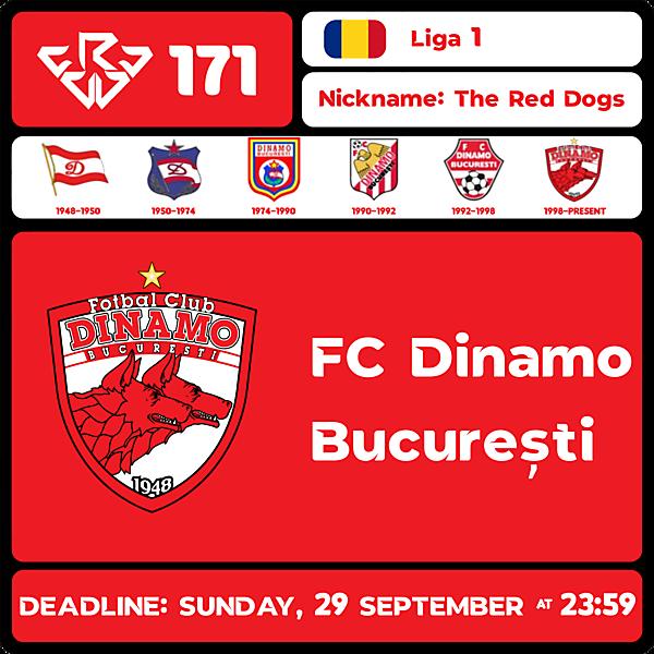 CRCW 171 - FC DINAMO BUCUREȘTI