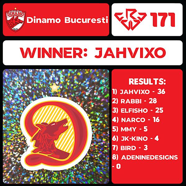 CRCW 171 RESULTS - FC DINAMO BUCUREȘTI
