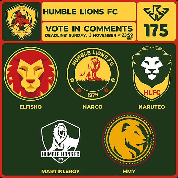 CRCW 175 VOTING - HUMBLE LIONS FC