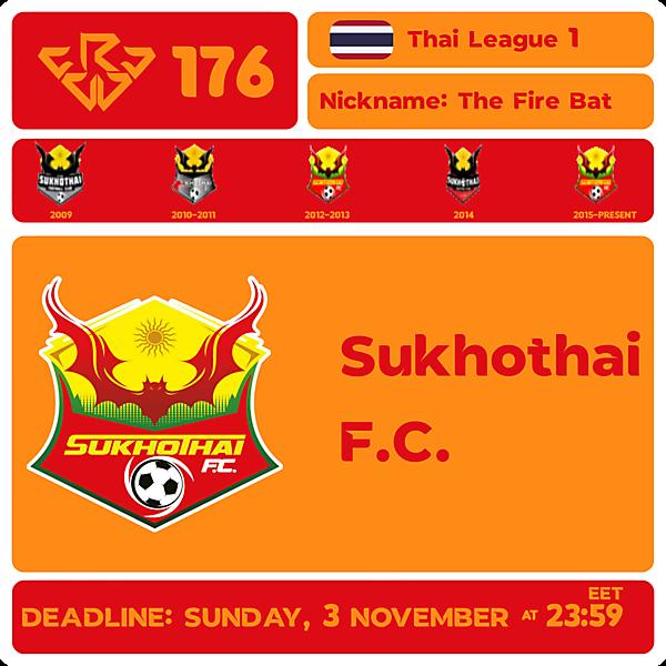 CRCW 176 - SUKHOTHAI FC