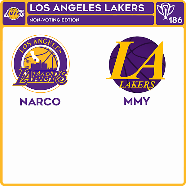 CRCW 186 HONORABLE EDITION - LOS ANGELES LAKERS