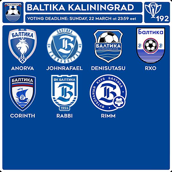 CRCW 192 VOTING - FC BALTIKA KALININGRAD