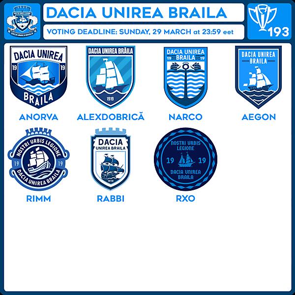 CRCW 193 VOTING - DACIA UNIREA BRAILA