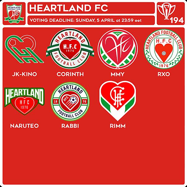 CRCW 194 VOTING - HEARTLAND FC