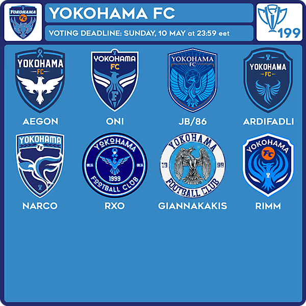 CRCW 199 VOTING - YOKOHAMA FC