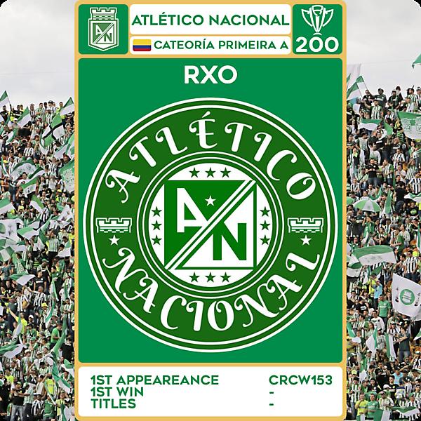 CRCW 200 - SPECIAL EDITION - ATLÉTICO NACIONAL - RXO