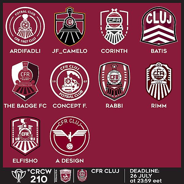 CRCW 210 VOTING - CFR CLUJ