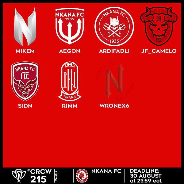 CRCW 215 VOTING - NKANA FC