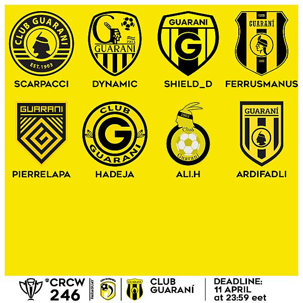 CRCW 246 VOTING - CLUB GUARANÍ