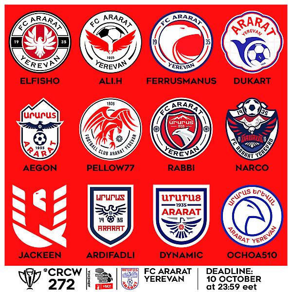 CRCW 272 - VOTING - FC ARARAT YEREVAN