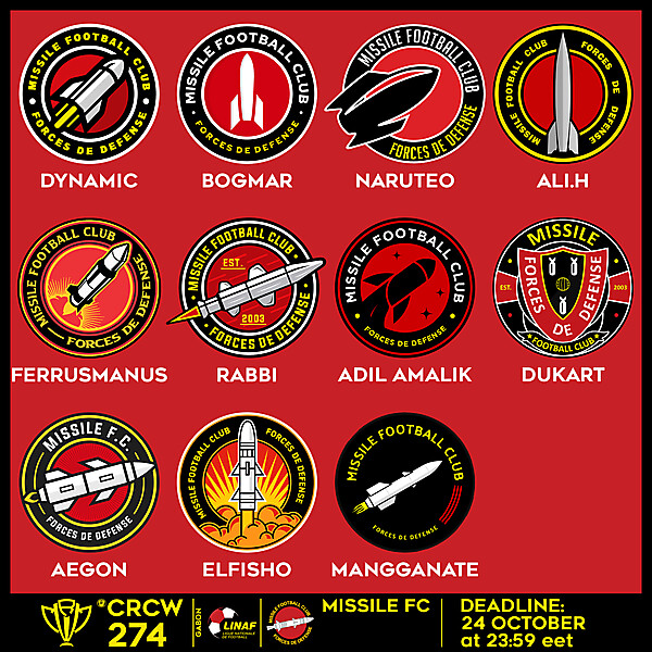 CRCW 274 - VOTING - MISSILE FC