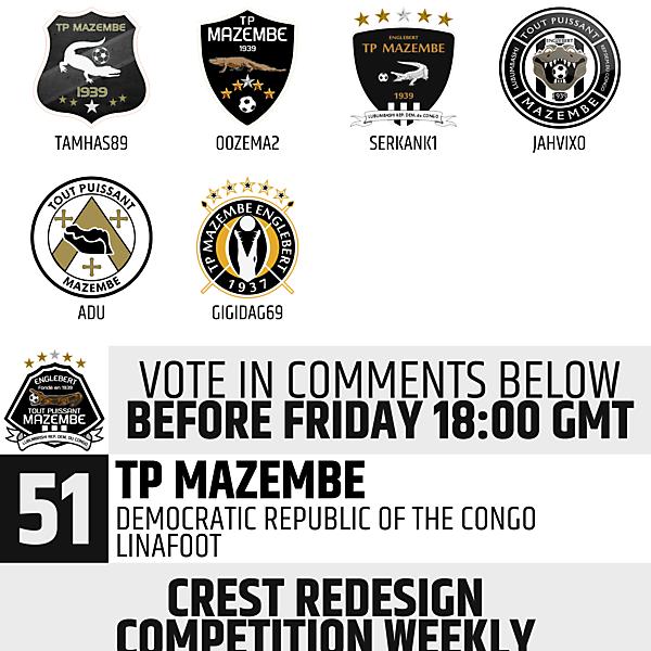 CRCW 51 Voting - TP Mazembe