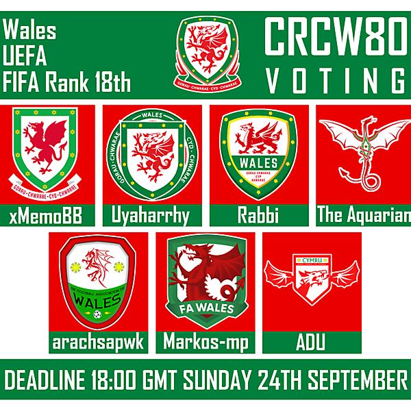 CRCW 80 - VOTING