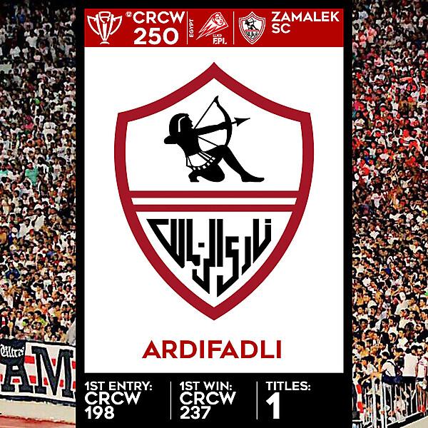 CRCW SPECIAL EDITION 250 - ZAMALEK SC - ARDIFADLI
