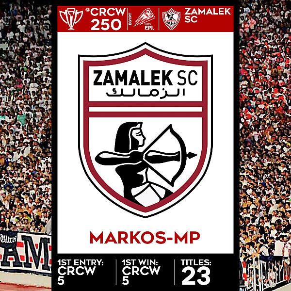 CRCW SPECIAL EDITION 250 - ZAMALEK SC - MARKOS-MP