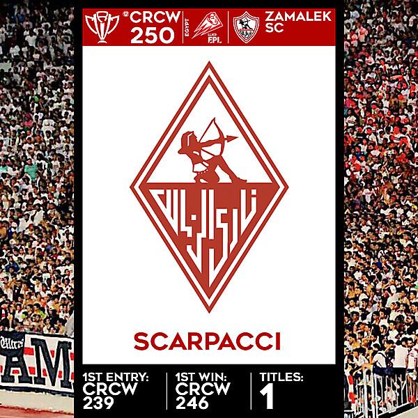 CRCW SPECIAL EDITION 250 - ZAMALEK SC - SCARPACCI