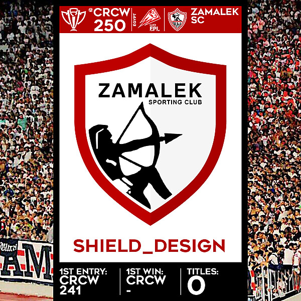 CRCW SPECIAL EDITION 250 - ZAMALEK SC - SHIELD_DESIGN