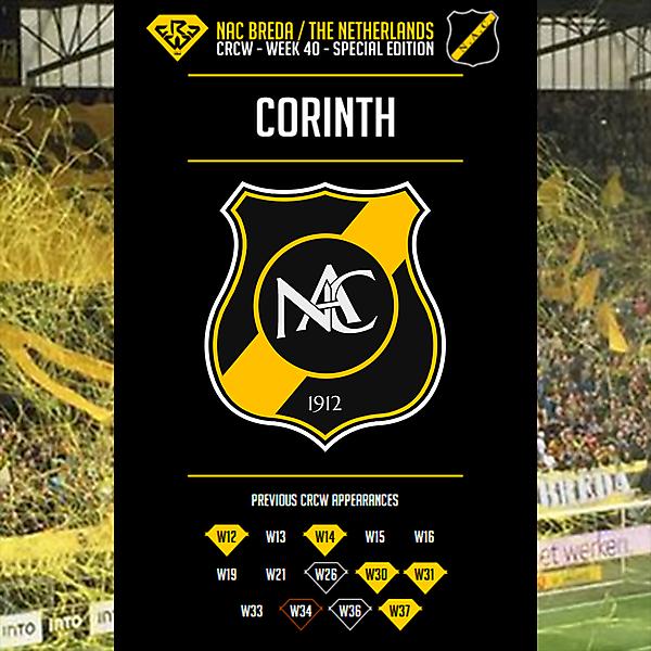 CRCW W40SE - NAC Breda - by Corinth