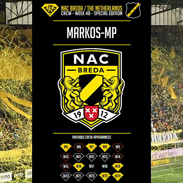 CRCW W40SE - NAC Breda - by Markos-mp