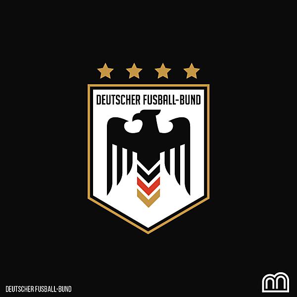 Deutscher Fusball-Bund Crest Redesign