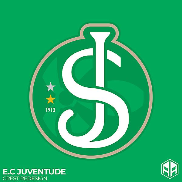 E.C Juventude crest redesign