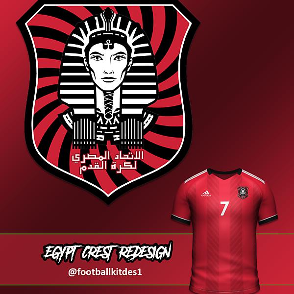 Egypt FA Crest Redesign