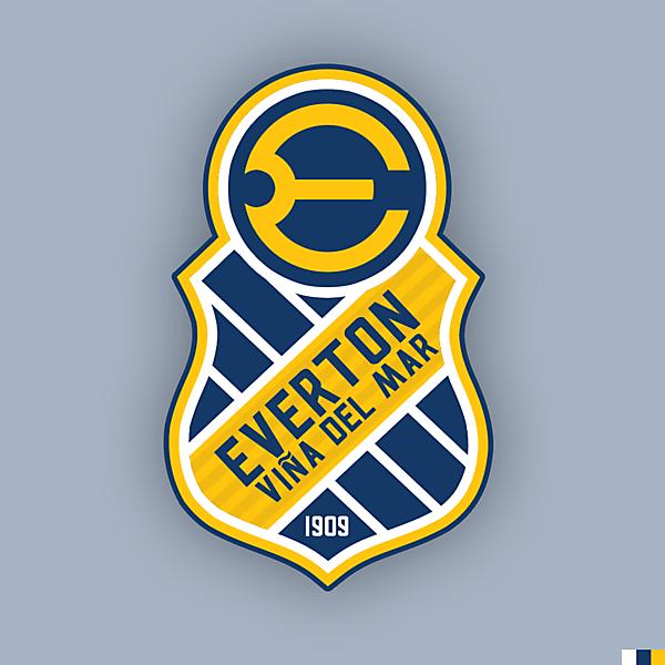 Everton de Viña del Mar - Crest Redesign