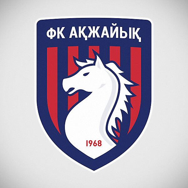 FC Akzhayik crest