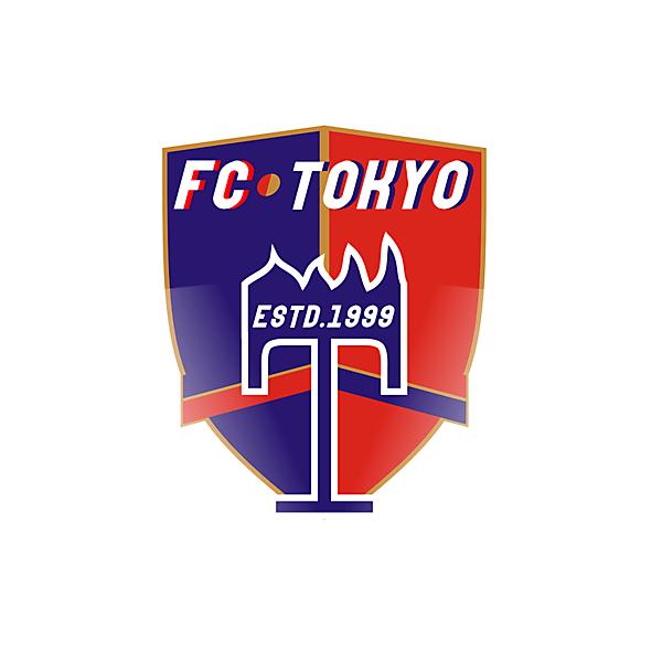 fc Tokyo crest redesign