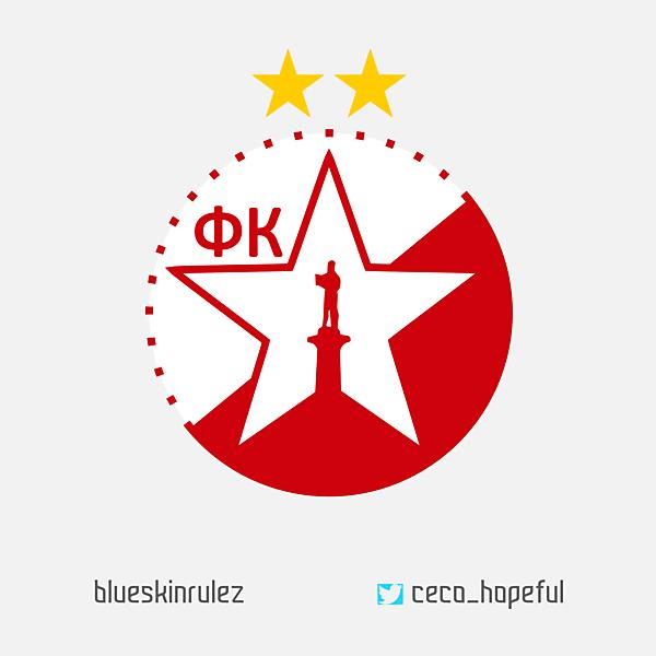 FK Crvena Zvezda Crest Redesign