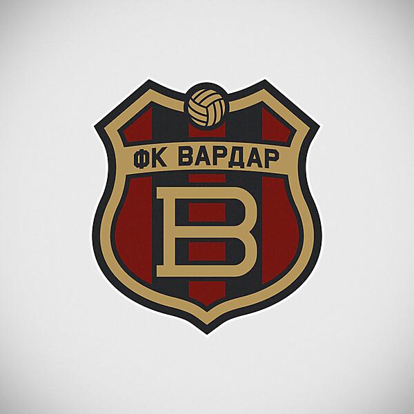 FK Vardar crest