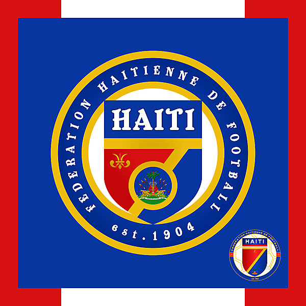 Haiti National Football Team - Redesign
