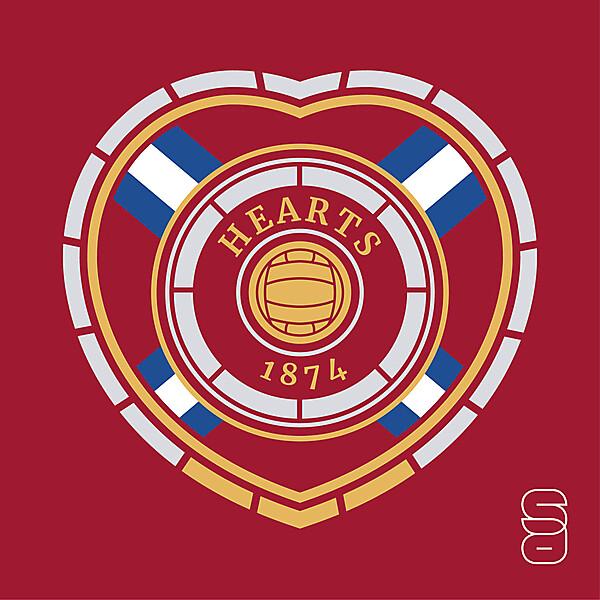 Heart Of Midlothian Crest Redesign