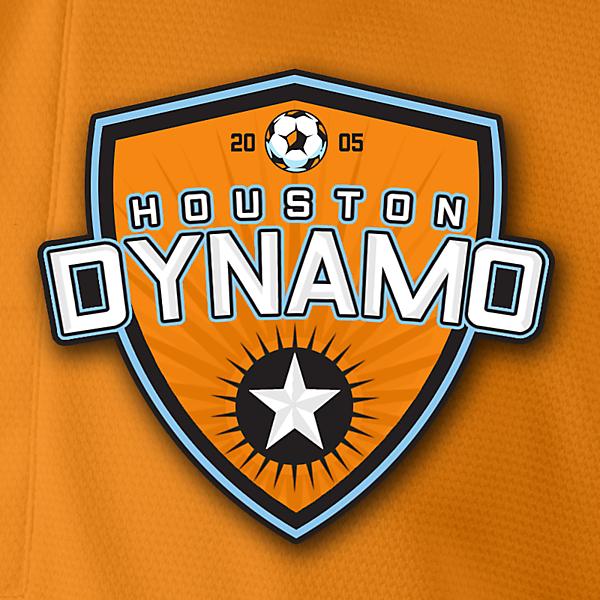 Houston Dynamo Crest Redesign