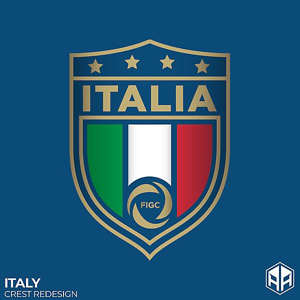 Italy crest redesign