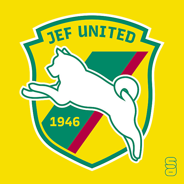 JEF United - Crest Redesign
