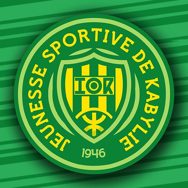 JS Kabylie Crest Redesign